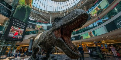 Clear Channel et Jurassic World
