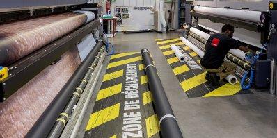 L'atelier de l'imprimeur numérique grand format Metropole